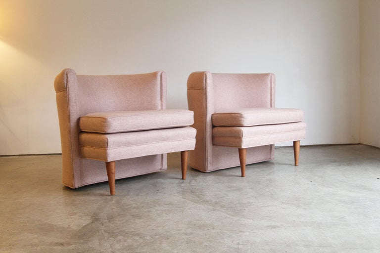 Designer: Unknown  Manufacture: Unknown  Period/style: Mid-Century Modern  Country: US  Date: 1950s  Newly made legs.