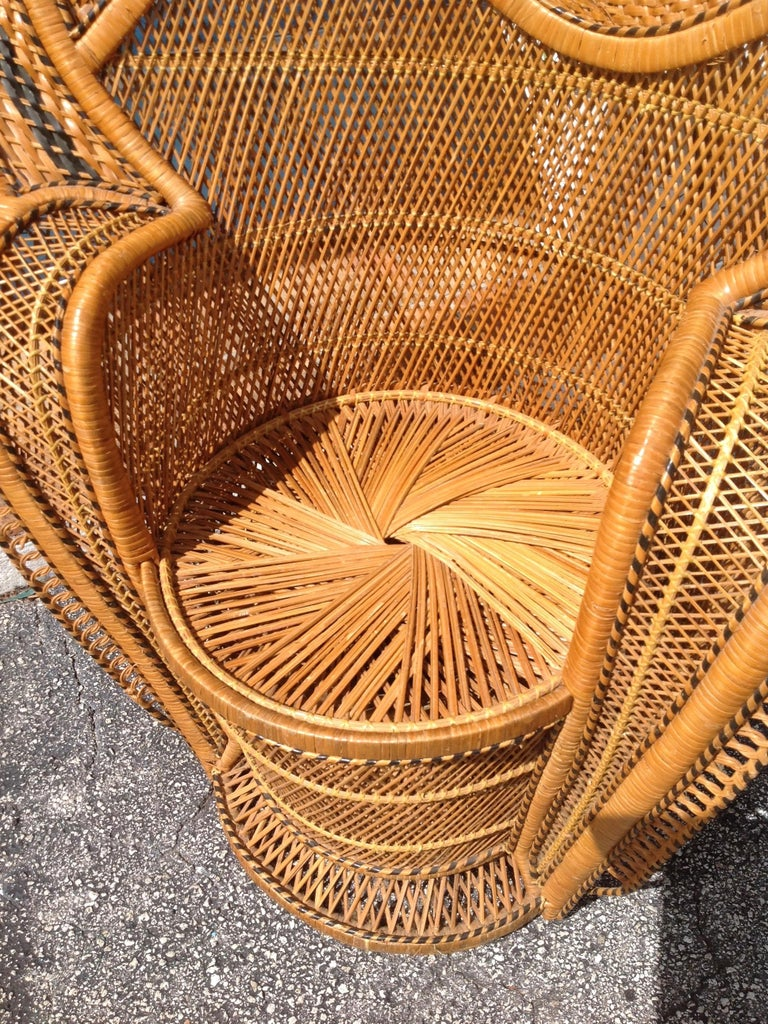 Dramatic Peacock Chair For Sale 1