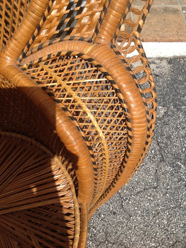 Dramatic Peacock Chair For Sale 2