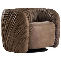 Drapé Lounge Chair by Bartoli Design
