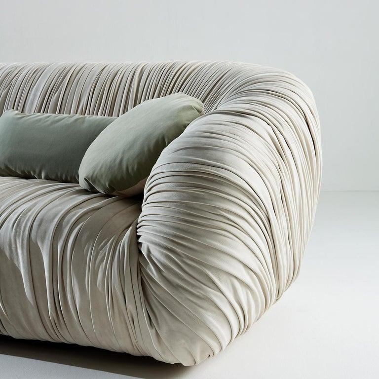 Modern Drapé Sofa For Sale