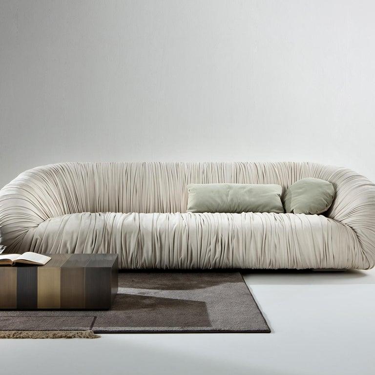 Contemporary Drapé Sofa For Sale