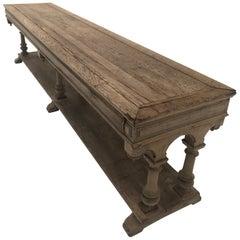 Drapiers Table in Beachead Oak