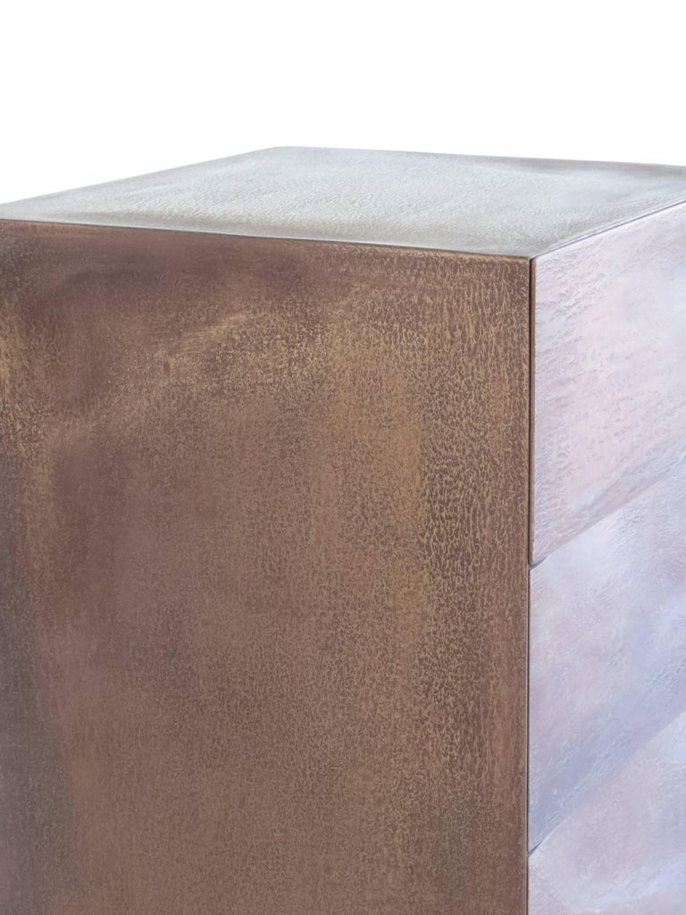 Drawer Box, Bronze, Organic Design Made in Germany For Sale 4