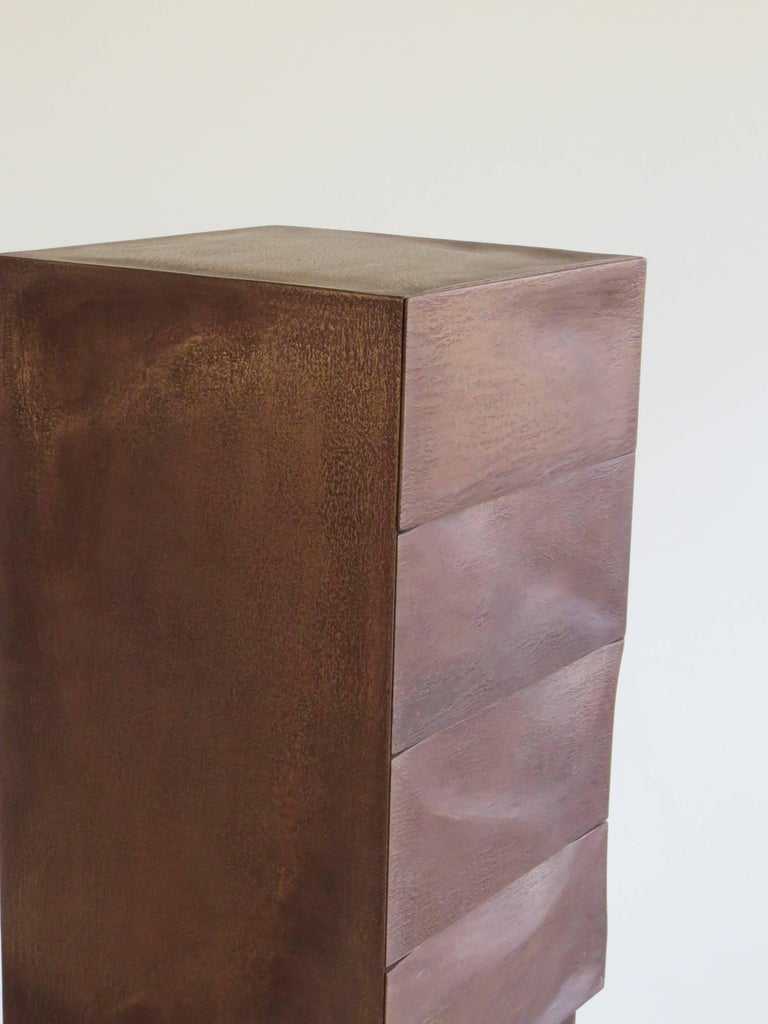Drawer Box, Bronze, Organic Design Made in Germany For Sale 2