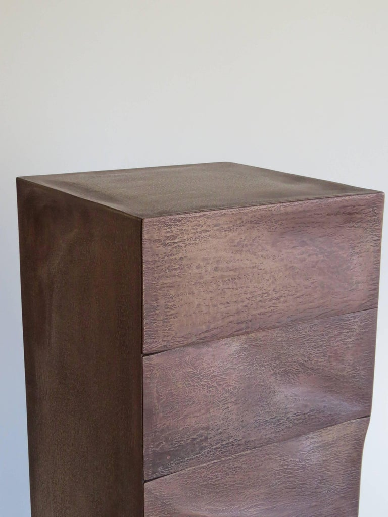 Drawer Box, Bronze, Organic Design Made in Germany For Sale 3