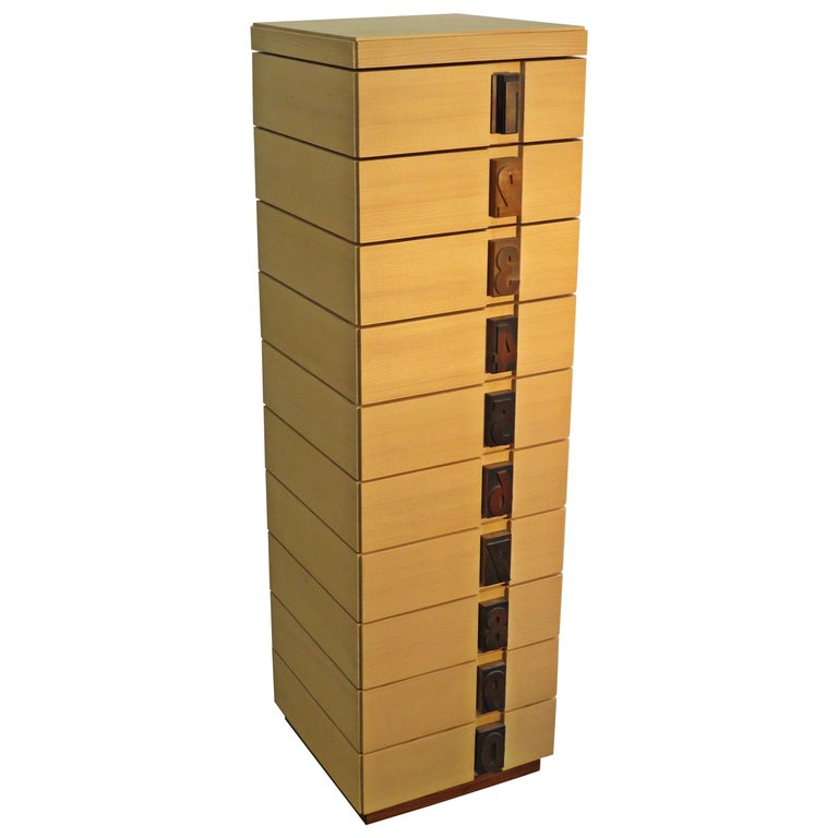 """Drawer Tower """"Excel"""" Solid Wood For Sale"""
