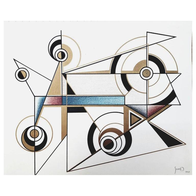 Drawings / Mexican Designer / Artist / Silvino Lopeztovar For Sale