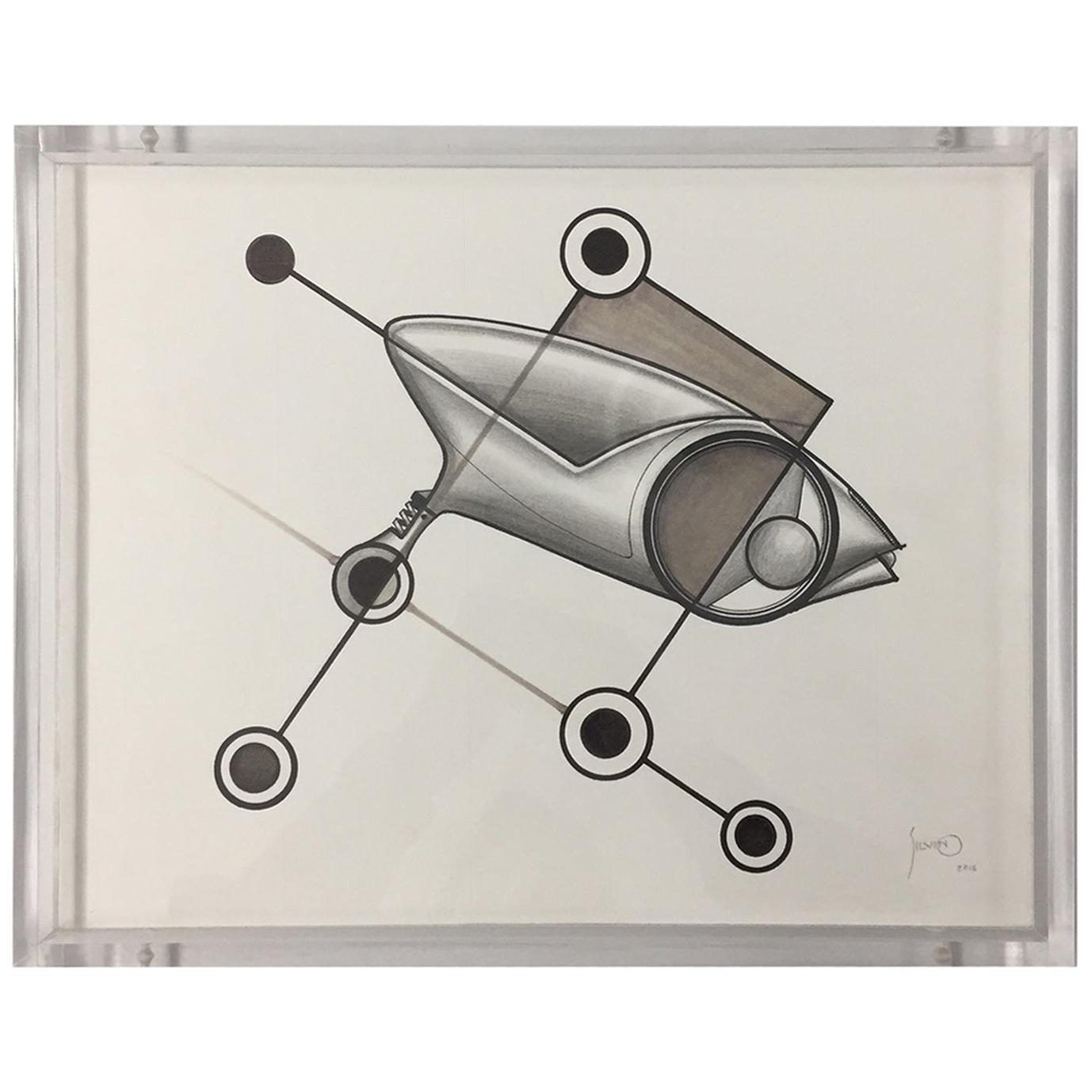 Drawings / Trimoto / Artist /Silvino Lopeztovar