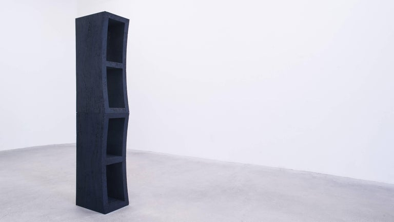 Dream Bookcase, Sand and Crushed Glass by Fernando Mastrangelo In New Condition For Sale In Brooklyn, NY