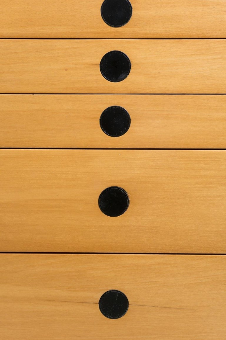 Dresser, Ash Wood, by Paolo Tilche, 1959 In Excellent Condition In Berlin, DE