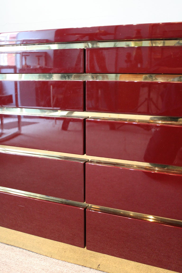 Dresser by Jean-Claude Mahey In Good Condition For Sale In Paris, FR