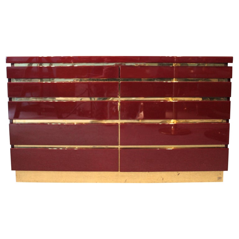 Dresser by Jean-Claude Mahey For Sale