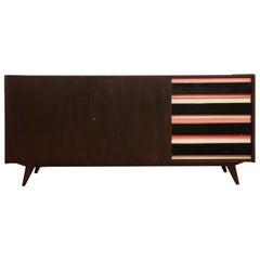 Dresser Jiri Jiroutek for Interier Praha, U 460 Pink and Gray