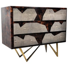 Dresser REEF in Shagreen and Shell Marquetry by Ginger Brown