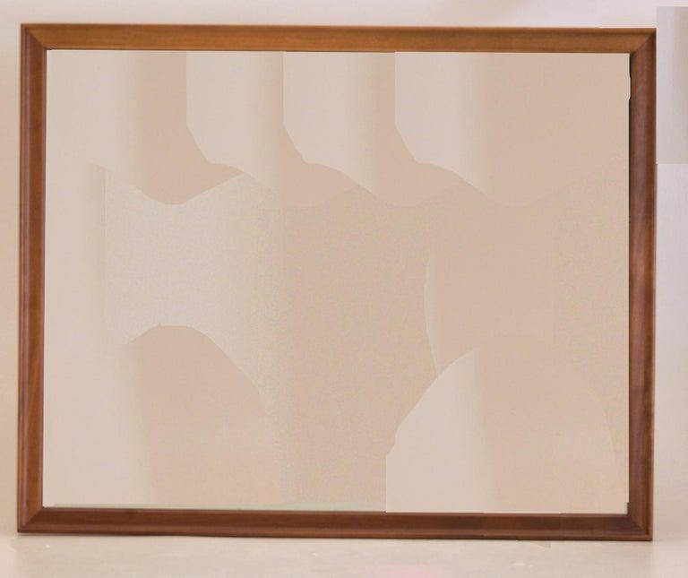 Dresser Suite and Mirror by Kipp Stewart for Drexel in Walnut For Sale 7
