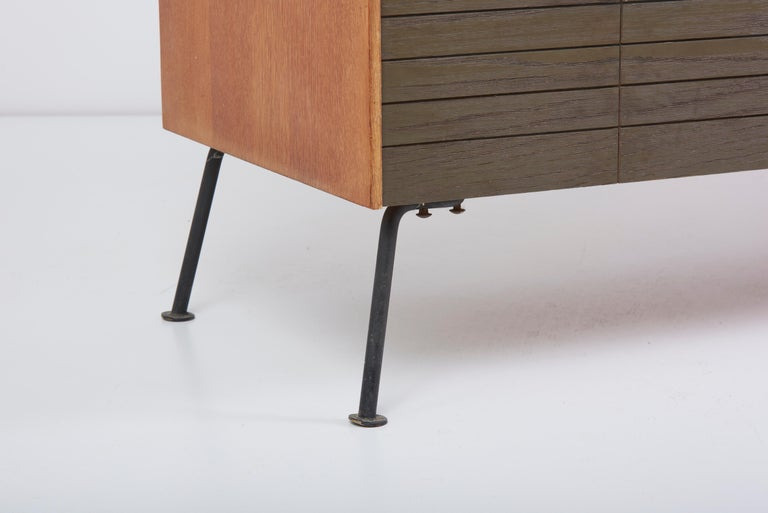 Dresser with Stool by Raymond Loewy for Mengel Furniture Company, Us, 1950s For Sale 1