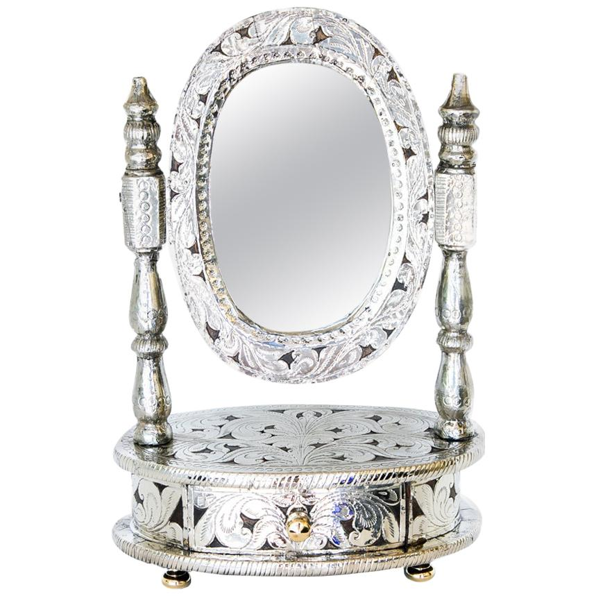 Dressing Mirror with Drawer