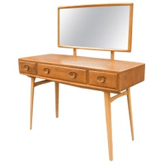 Mid Century Modern Dressing Table and Mirror