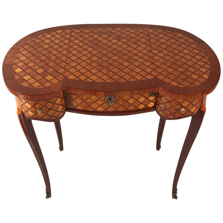 Dressing Table, France Second Half of the 19th Century For Sale