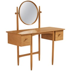 Dressing Table in Oak by Sven Engström and Gunnar Myrstrand