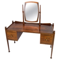 Dressing Table in Rosewood Designed by Chr. Linneberg from the 1960s