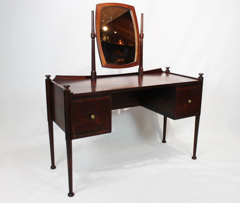 Mid-20th Century Dressing Table in Rosewood of Danish Design from the 1960s For Sale