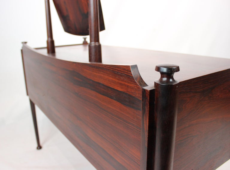 Dressing Table in Rosewood of Danish Design from the 1960s For Sale 3