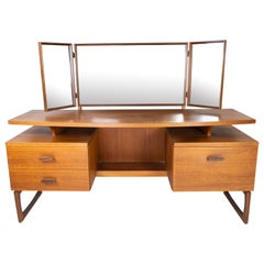 Dressing Table in Teak of Danish Design from the 1960s