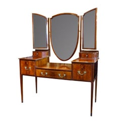 Dressing Table Made of Mahogany, England, circa 1910-1920