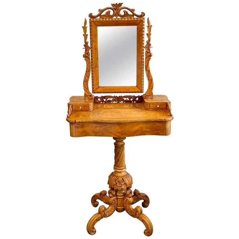 Dressing Table / Vanity Table, Historicism, Sweden, 1880 For Sale