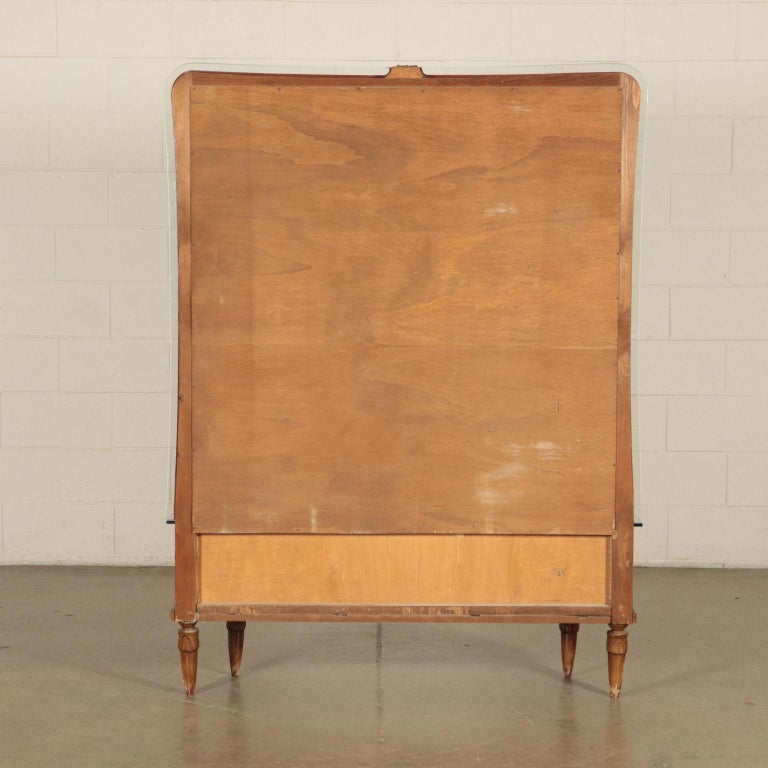 Mid-20th Century Dressing Table with Mirror, Italy, 1930s-1940s For Sale