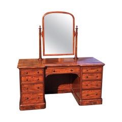 Mahogany Dressing Table. .  English, circa 1860