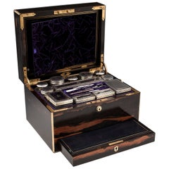 Dressing Vanity Countess Coromandel Silver Box
