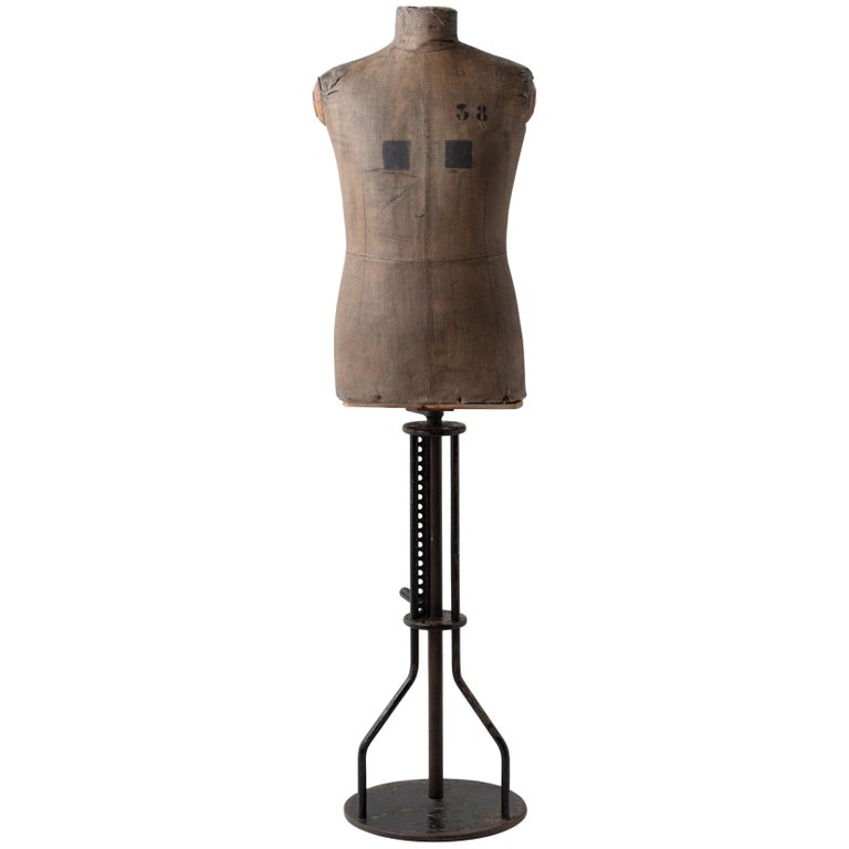 Dressmakers Display Mannequin, Northern European, circa 1920 For Sale