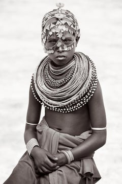 Portrait of a Young Woman in East Kenya, Iconic, Empowerment, Fashion