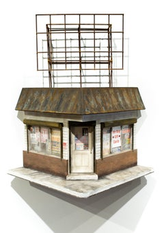 """Cash Loans"", Miniature, Architecture, Building, Cityscape, Sculpture"