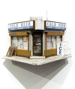 """Cold Beer"", Miniature, Architecture, Building, Cityscape, Sculpture"