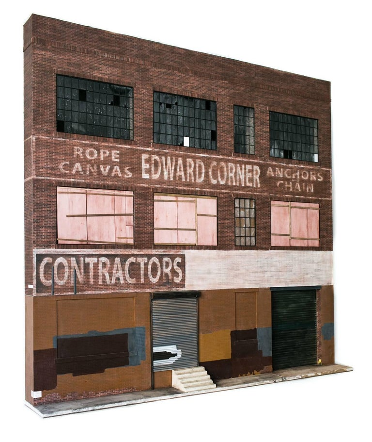 Edward Corner Warehouse - Contemporary Sculpture by Drew Leshko