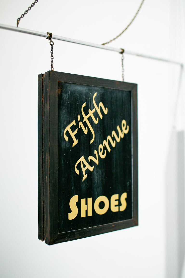 Fifth Avenue Shoes - Sculpture by Drew Leshko