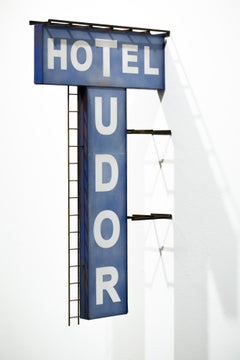 """Hotel Tudor"", Miniature, Architecture, Sign, Cityscape, Sculpture"