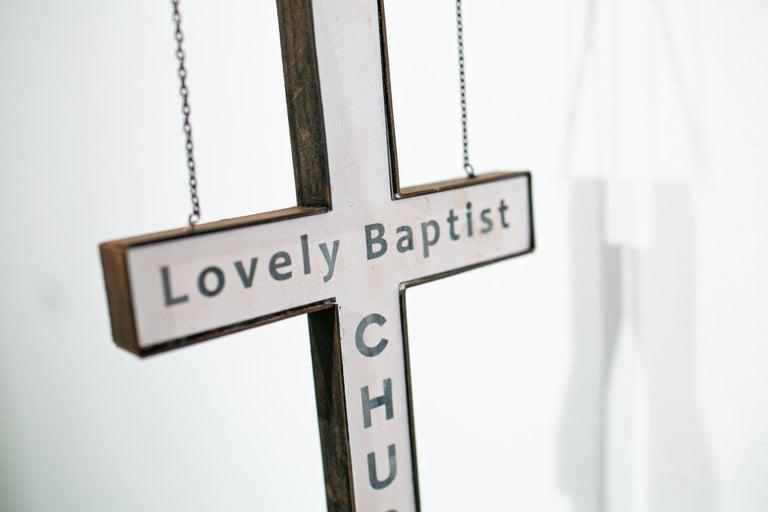 Lovely Baptist Church - Sculpture by Drew Leshko