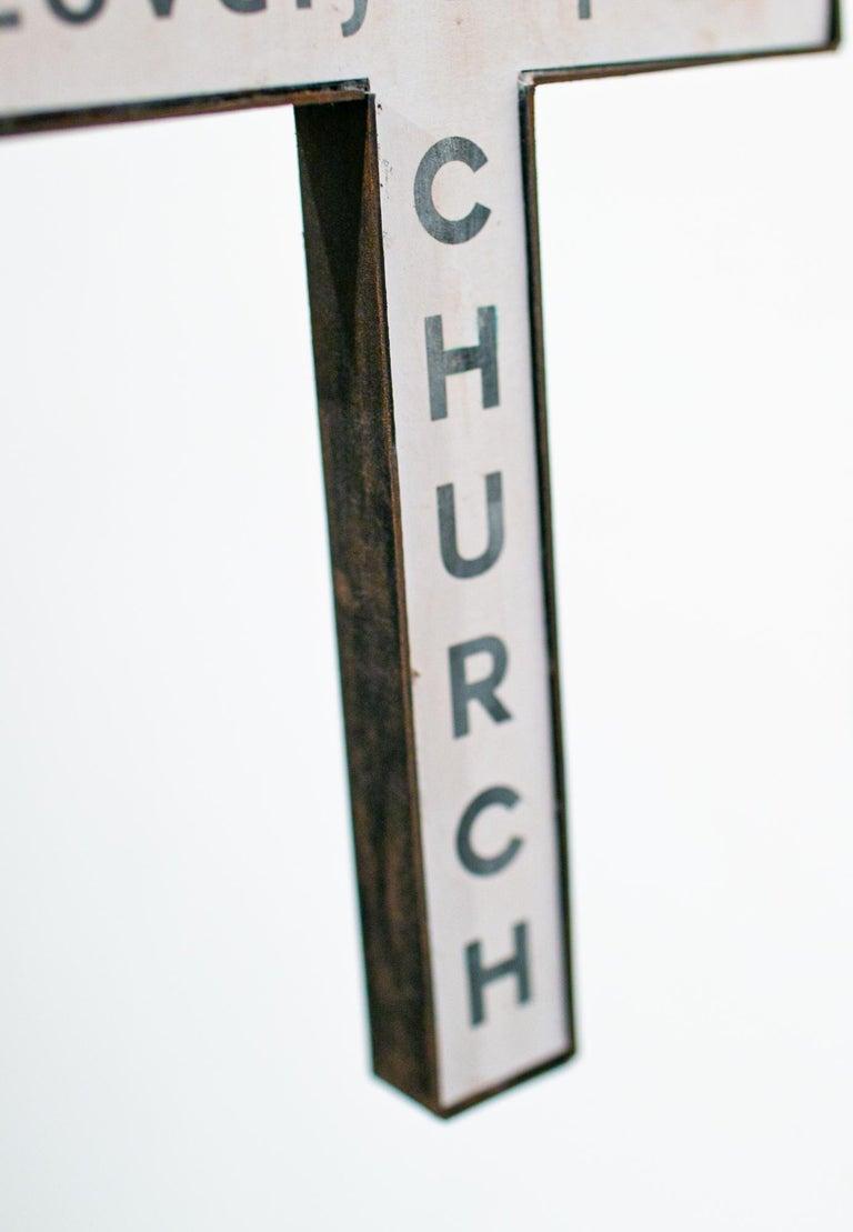 Lovely Baptist Church - Contemporary Sculpture by Drew Leshko