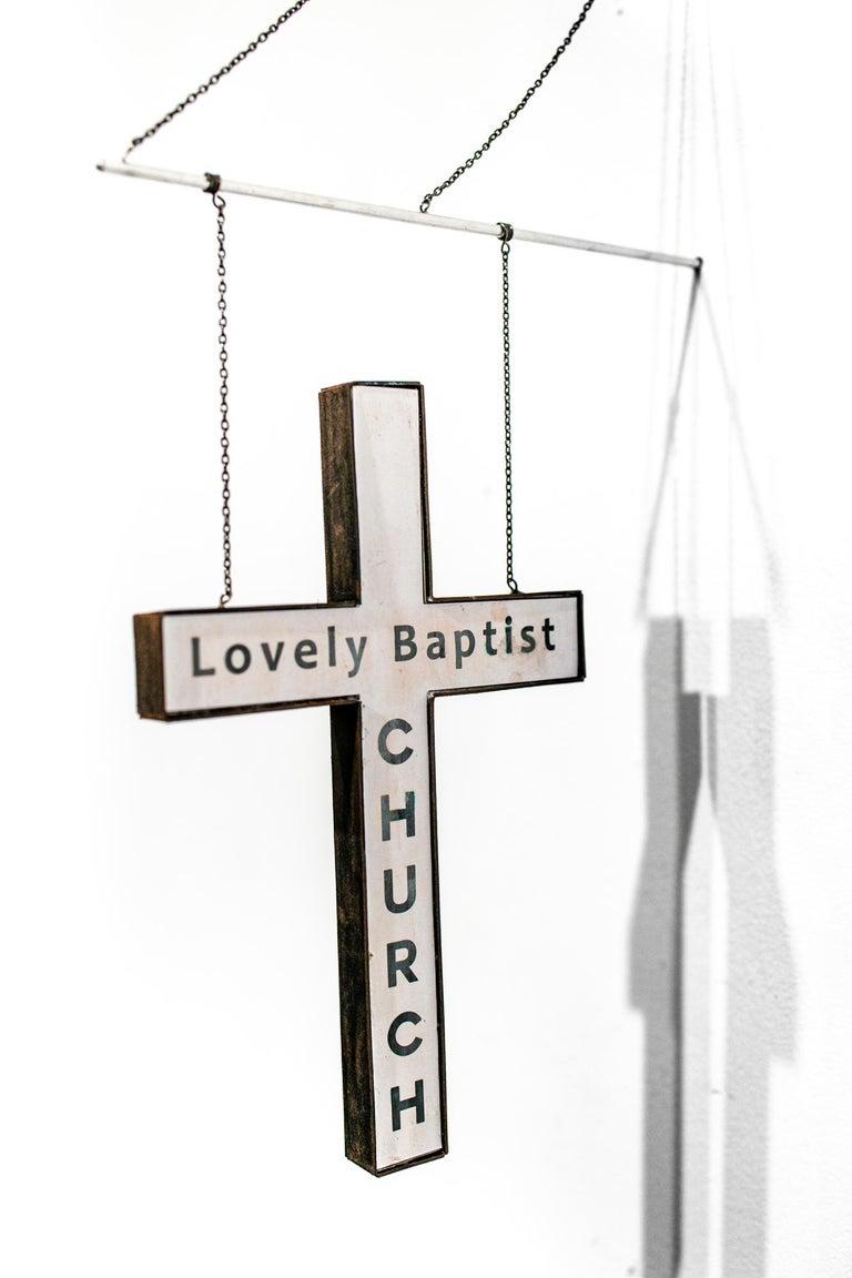 Drew Leshko Still-Life Sculpture - Lovely Baptist Church