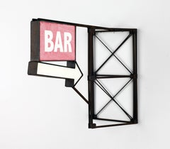 Red Bar with Arrow
