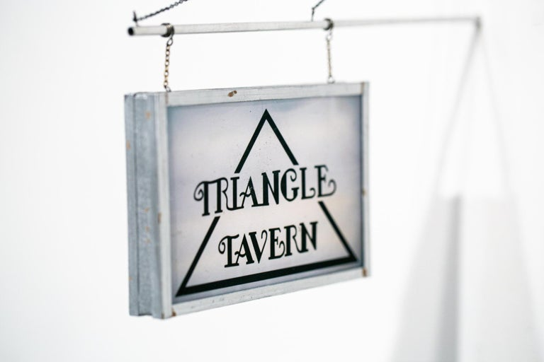 Triangle Tavern - Sculpture by Drew Leshko