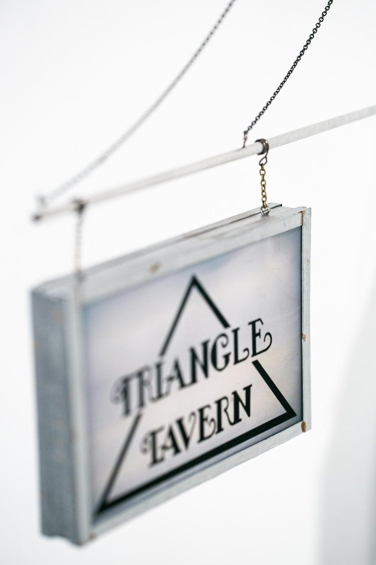 Triangle Tavern - Contemporary Sculpture by Drew Leshko