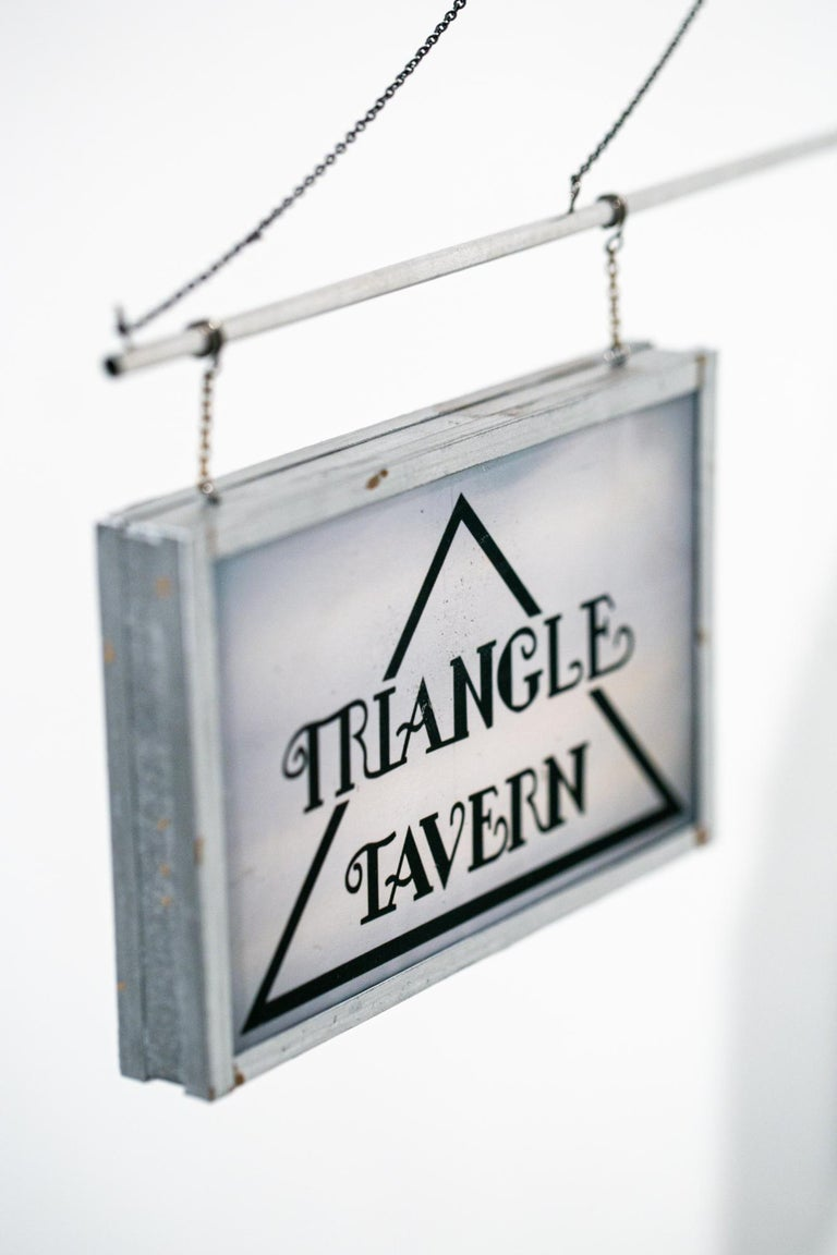 Triangle Tavern - Gray Still-Life Sculpture by Drew Leshko