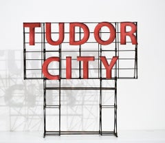 """Tudor City"", Miniature, Architecture, Sign, Cityscape, Sculpture"