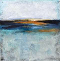 Sunrise, Abstract Painting